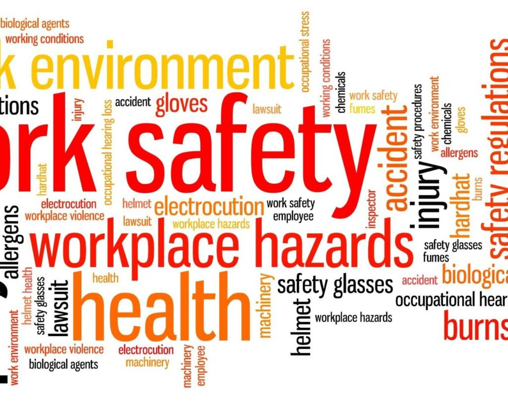 Work Safety word image